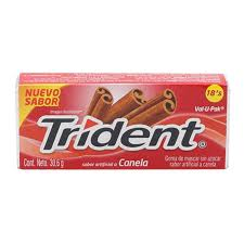 CHICLE TRIDENT VAL-U-PACK CANELA 30.6G
